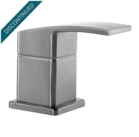 brushed nickel kenzo lav/roman tub/bidet handle - hhl-dfxk - 1
