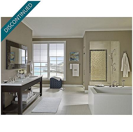 Brushed Nickel Iyla Widespread Bath Faucet - GT49-TR0K - 2