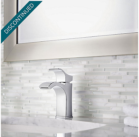 Polished Chrome Venturi Single Control, Centerset Bath Faucet - F-042-VNCC - 3