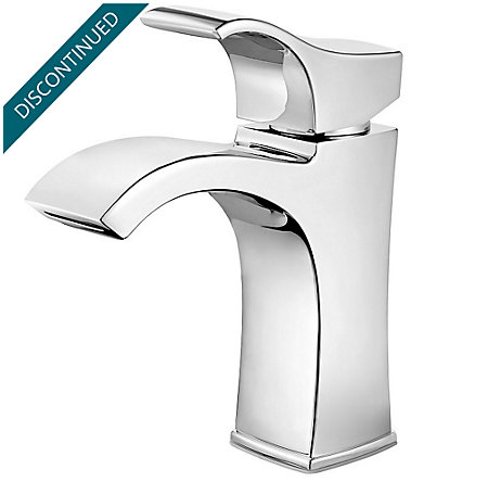 Polished Chrome Venturi Single Control, Centerset Bath Faucet - F-042-VNCC - 1