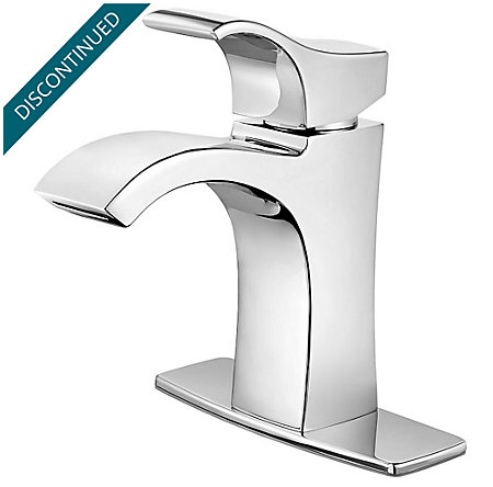 Polished Chrome Venturi Single Control, Centerset Bath Faucet - F-042-VNCC - 2