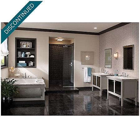 Polished Chrome Park Avenue Widespread Bath Faucet - GT49-FE0C - 3