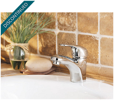 Polished Chrome Pro Series Single Control, Centerset Bath Faucet - PRO-P250 - 3