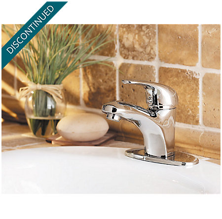 Polished Chrome Pro Series Single Control, Centerset Bath Faucet - PRO-P250 - 4