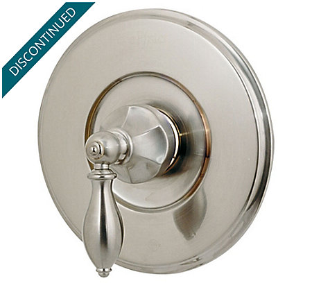 Brushed Nickel Catalina Valve, Trim Only - R89-1EBK - 1