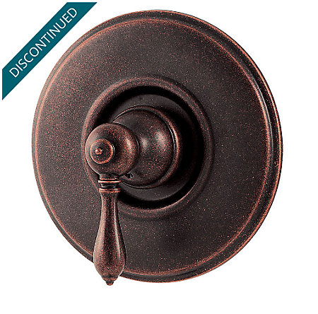 rustic bronze marielle tub & shower valve only trim - r89-1mbu - 1