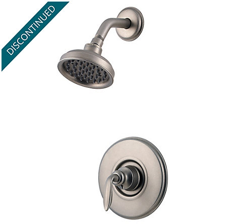 Rustic Pewter Avalon Shower Only - R89-7CBE - 1