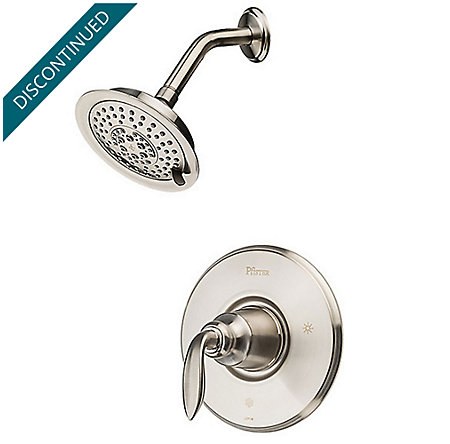Brushed Nickel Avalon 1-Handle Shower, Trim Only - R89-7CBK - 1