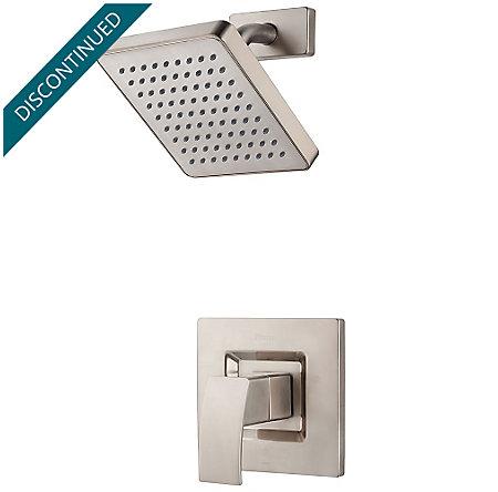 Brushed Nickel Kenzo 1-Handle Shower, Trim Only - R89-7DFK - 1
