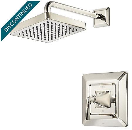 Polished Nickel Park Avenue 1-Handle Shower, Trim Only - R89-7FED - 1