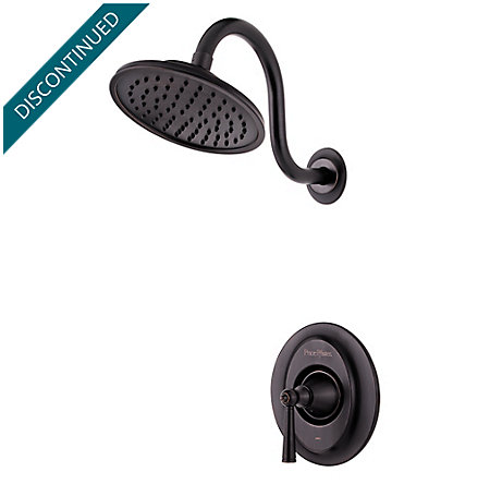 Tuscan Bronze Saxton 1-Handle Shower, Trim Only - R89-7GLY - 1