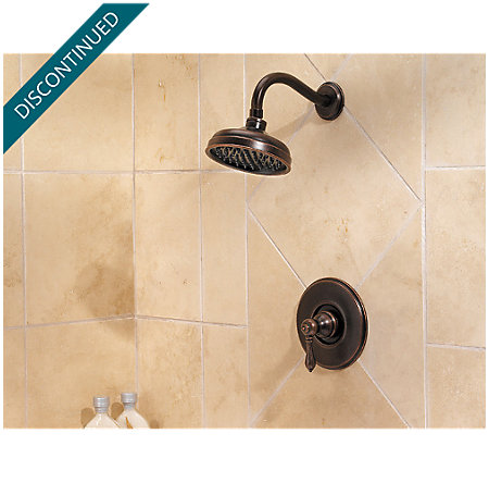Rustic Bronze Marielle Shower Only - G89-7MBU - 2