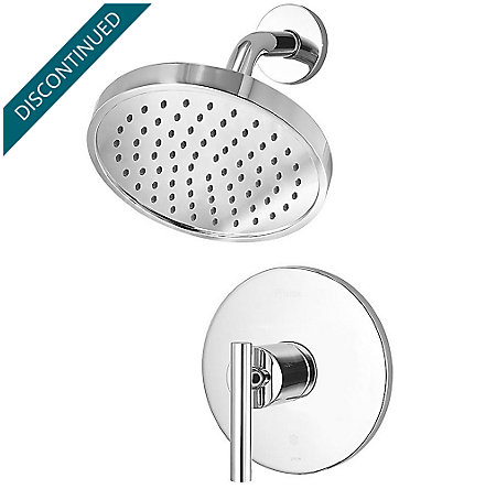 Polished Chrome Contempra 1-Handle Shower, Trim Only - R89-7NCC - 1