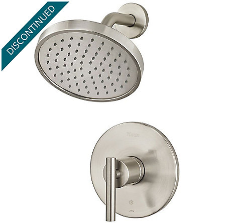 Brushed Nickel Contempra 1-Handle Shower, Trim Only - R89-7NCK - 1