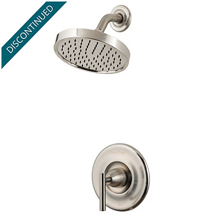 Brushed Nickel Contempra Shower Only - G89-7NK1 - 1