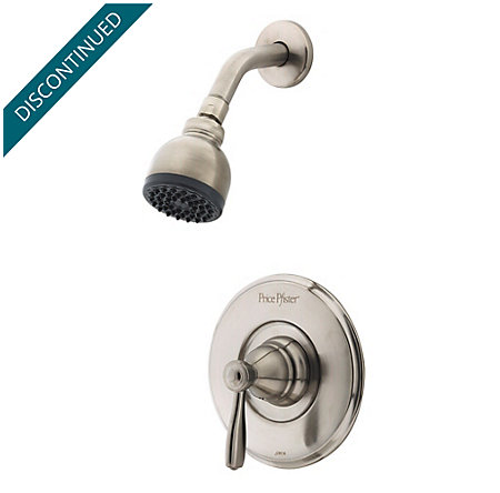 Brushed Nickel Portland Shower Only - R89-7PK0 - 1