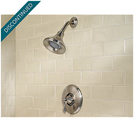 Brushed Nickel Portola 1-Handle Shower, Trim Only - R89-7RPK - 2