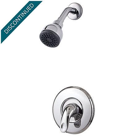 Polished Chrome Serrano 1-Handle Shower, Trim Only - R89-7SRC - 1