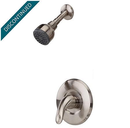 Brushed Nickel Serrano 1-Handle Shower, Trim Only - R89-7SRK - 1