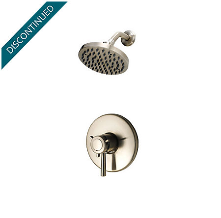 Brushed Nickel Pfister Series 1-Handle Shower, Trim Only - R89-7TUK - 1