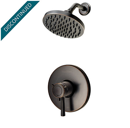 Tuscan Bronze Pfister Series 1-Handle Shower, Trim Only - R89-7TUY - 1