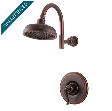 Rustic Bronze Ashfield 1-Handle Shower, Trim Only - R89-7YPU - 1
