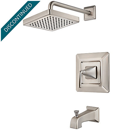 Brushed Nickel Park Avenue 1-Handle Tub & Shower, Trim Only - R89-8FEK - 1