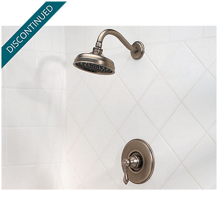 Rustic Pewter Marielle Tub & Shower Combo - R89-8MBE - 2