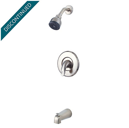 Brushed Nickel Serrano 1-Handle Tub & Shower, Trim Only - R89-8SRK - 1
