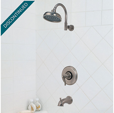 Rustic Pewter Ashfield Tub & Shower Combo - R89-8YPE - 2