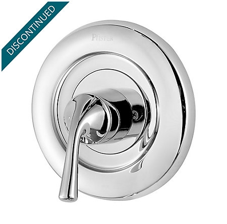 Polished Chrome Universal Tub and Shower Valve Only Trim Delta - R90-1DSC - 1