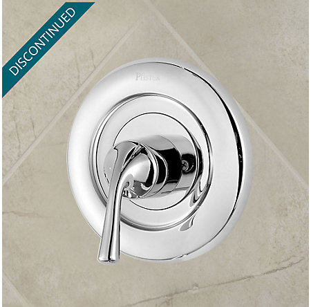 Polished Chrome Universal Tub and Shower Valve Only Trim Moen - R90-1MSC - 2