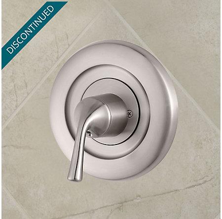 Brushed Nickel Universal Tub and Shower Valve Only Trim Moen - R90-1MSK - 2