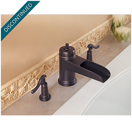Tuscan Bronze Ashfield 3 Hole Roman Tub - RT6-YPXY - 2