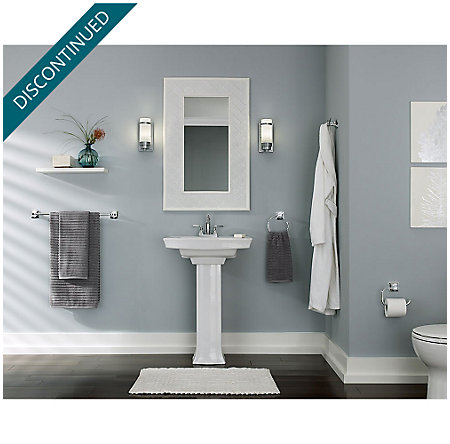 Polished Chrome Selia Centerset Bath Faucet - F-048-SLCC - 6