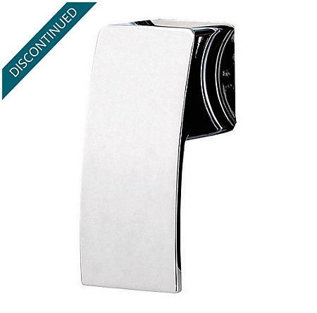 Polished Chrome Kenzo Shower Handle - SGL-DFXC - 1
