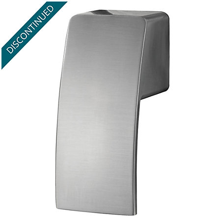 brushed nickel kenzo shower handle - sgl-dfxk - 1