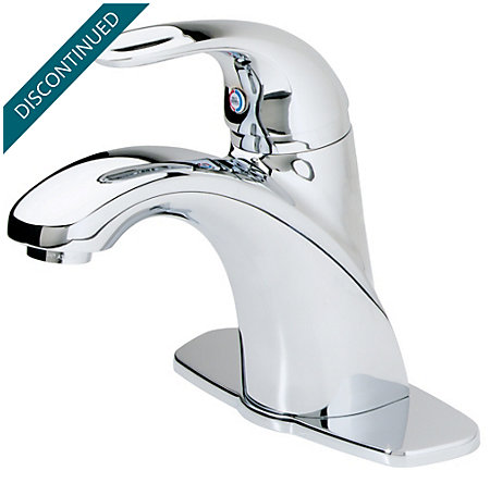 Polished Chrome Parisa Single Control, Centerset Bath Faucet - T42-AGFC - 1