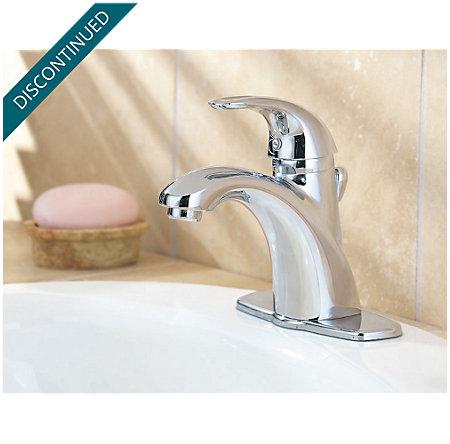 Polished Chrome Parisa Single Control, Centerset Bath Faucet - T42-AMFC - 3