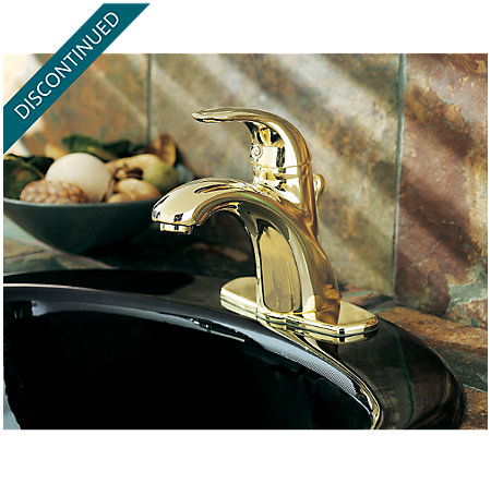 Polished Brass Parisa Single Control, Centerset Bath Faucet - T42-AMFP - 5