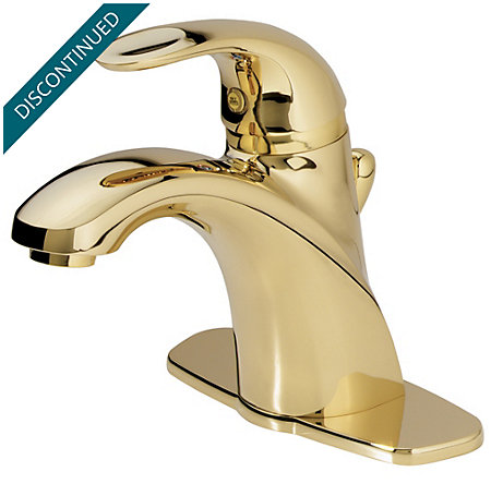 Polished Brass Parisa Single Control, Centerset Bath Faucet - T42-AMFP - 2