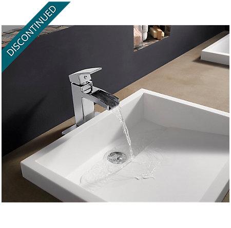 Polished Chrome Kenzo Single Control, Centerset Bath Faucet - T42-DF0C - 3