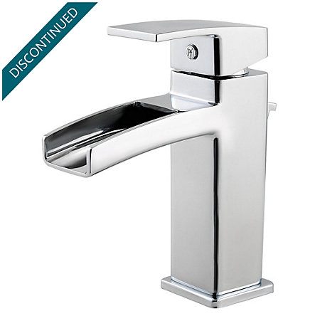 Polished Chrome Kenzo Single Control, Centerset Bath Faucet - T42-DF0C - 1