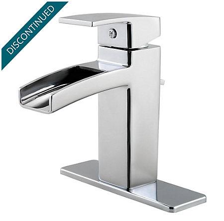 Polished Chrome Kenzo Single Control, Centerset Bath Faucet - T42-DF0C - 2