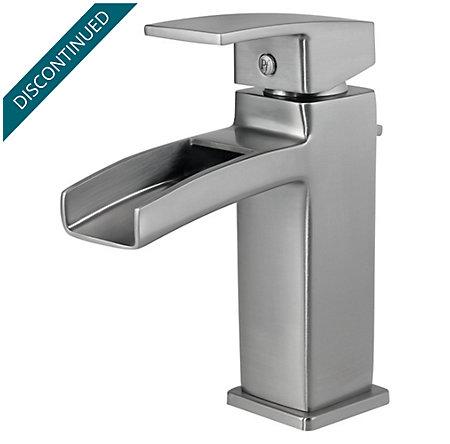 Brushed Nickel Kenzo Single Control, Centerset Bath Faucet - T42-DF0K - 1