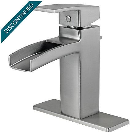 Brushed Nickel Kenzo Single Control, Centerset Bath Faucet - T42-DF0K - 2