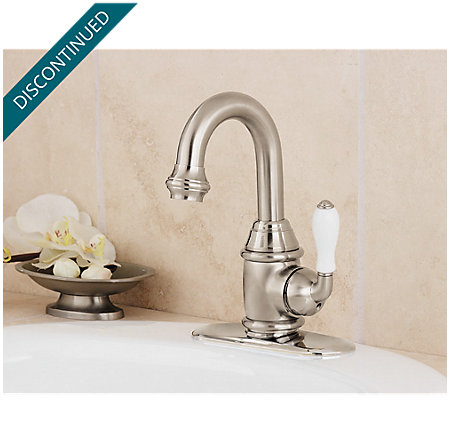 Brushed Nickel Savannah Single Control, Centerset Bath Faucet - T42-H0FK - 3