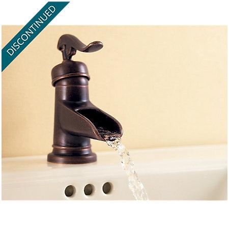 Rustic Bronze Ashfield Single Control, Centerset Bath Faucet - T42-YP0U - 5