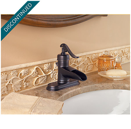 Tuscan Bronze Ashfield Single Control, Centerset Bath Faucet - T42-YP0Y - 4
