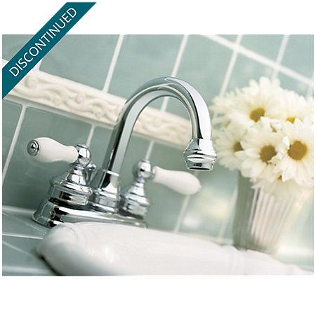 Polished Chrome Savannah Centerset Bath Faucet - T43-H0XC - 2